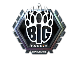 Sticker   BIG (Foil)   London 2018