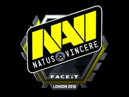 Sticker   Natus Vincere (Foil)   London 2018
