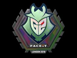 Sticker | G2 Esports (Holo) | London 2018