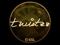 Sticker   Twistzz (Gold)   Katowice 2019