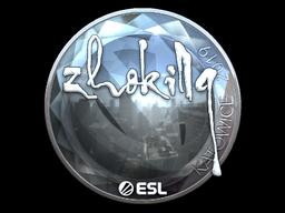 Sticker   zhokiNg (Foil)   Katowice 2019