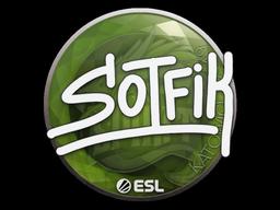 Sticker | S0tF1k | Katowice 2019
