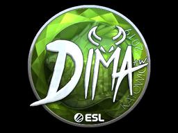 Sticker   Dima (Foil)   Katowice 2019
