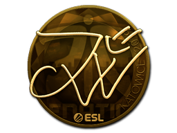 Sticker   JW (Gold)   Katowice 2019