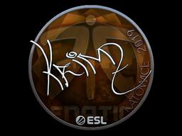 Sticker   KRIMZ (Foil)   Katowice 2019