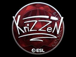 Sticker   KrizzeN (Foil)   Katowice 2019