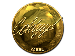 Sticker | COLDYY1 (Gold) | Katowice 2019