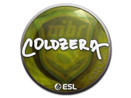 Sticker   coldzera   Katowice 2019