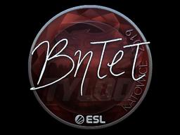 Sticker | BnTeT (Foil) | Katowice 2019
