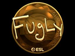 Sticker | FugLy (Gold) | Katowice 2019