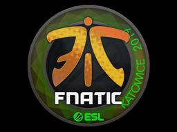 Sticker   Fnatic (Holo)   Katowice 2019