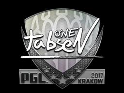 Sticker   tabseN   Krakow 2017