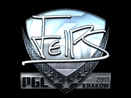 Sticker | felps (Foil) | Krakow 2017