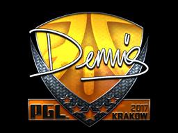 Sticker   dennis (Foil)   Krakow 2017