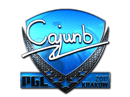 Sticker   cajunb (Foil)   Krakow 2017