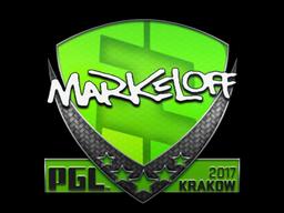 Sticker   markeloff   Krakow 2017