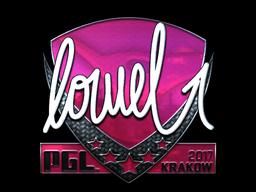 Sticker   loWel (Foil)   Krakow 2017