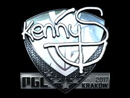 Sticker   kennyS (Foil)   Krakow 2017