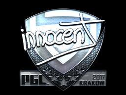 Sticker   innocent (Foil)   Krakow 2017
