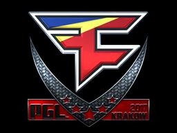 Sticker   FaZe Clan (Foil)   Krakow 2017