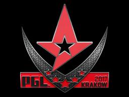 Sticker   Astralis   Krakow 2017
