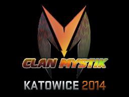Sticker | Clan-Mystik (Holo) | Katowice 2014