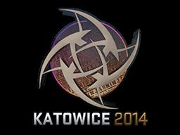 Sticker   Ninjas in Pyjamas (Holo)   Katowice 2014