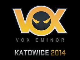 Sticker   Vox Eminor   Katowice 2014
