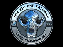 Sticker   ESL Skull (Foil)   Katowice 2014