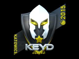 Sticker   Keyd Stars (Foil)   Katowice 2015
