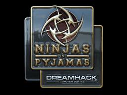 Sticker   Ninjas in Pyjamas (Foil)   DreamHack 2014