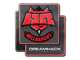 Sticker | HellRaisers | DreamHack 2014