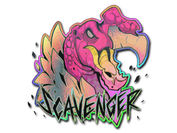 Sticker   Scavenger (Holo)