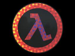 Sticker   Lambda (Holo)