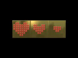 Sticker   Health (Gold)
