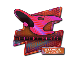 Sticker   mousesports (Holo)   Atlanta 2017