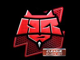 Sticker   HellRaisers (Foil)   Atlanta 2017