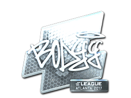 Sticker   bodyy (Foil)   Atlanta 2017