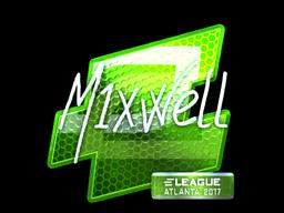 Sticker | mixwell (Foil) | Atlanta 2017