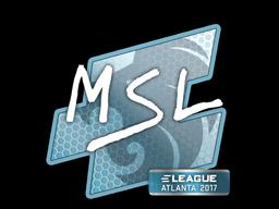 Sticker   MSL   Atlanta 2017