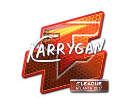 Sticker | karrigan (Foil) | Atlanta 2017