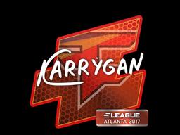 Sticker | karrigan | Atlanta 2017
