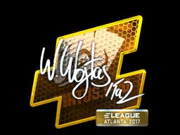 Sticker | TaZ (Foil) | Atlanta 2017