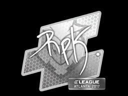 Sticker   RpK   Atlanta 2017