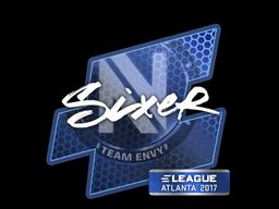 Sticker   SIXER   Atlanta 2017