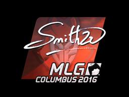 Sticker   SmithZz (Foil)   MLG Columbus 2016