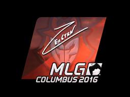Sticker   Ex6TenZ (Foil)   MLG Columbus 2016