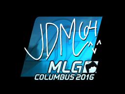 Sticker   jdm64 (Foil)   MLG Columbus 2016