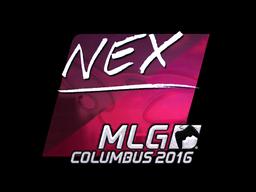 Sticker | nex (Foil) | MLG Columbus 2016