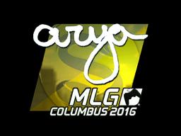 Sticker | arya (Foil) | MLG Columbus 2016